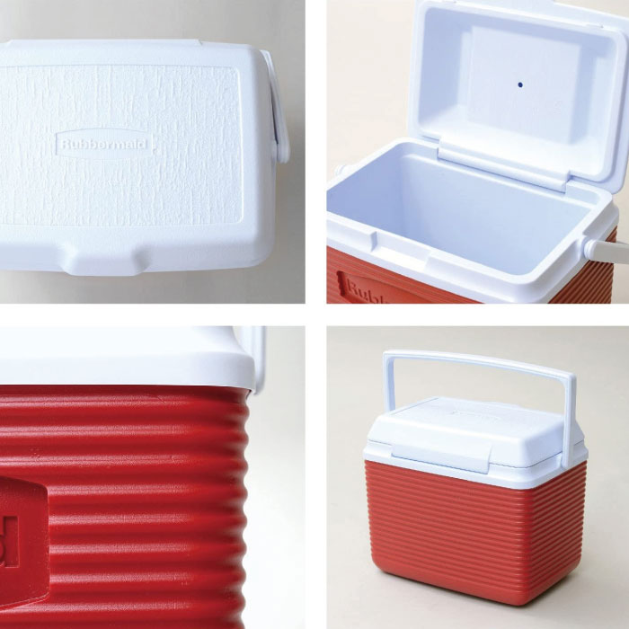 hielera portátil rubbermaid